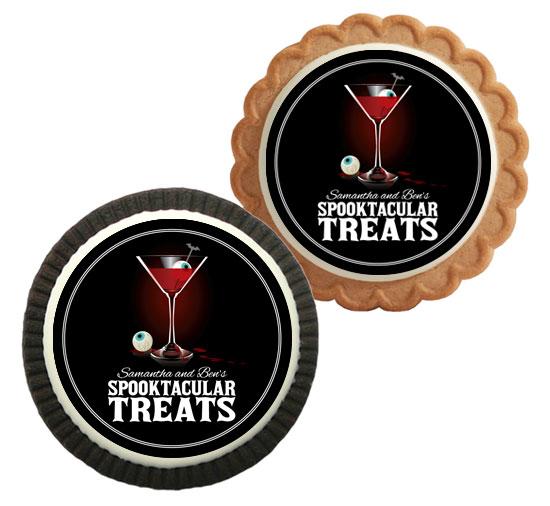 Spooky Spirits Theme Custom Cookie