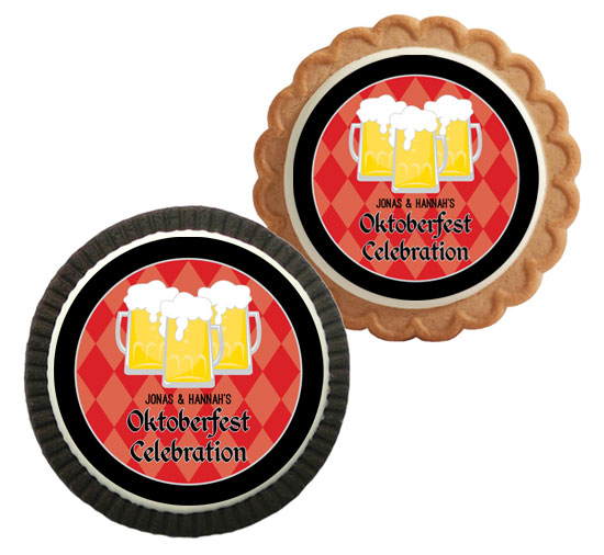 Oktoberfest Beer Theme Custom Cookie