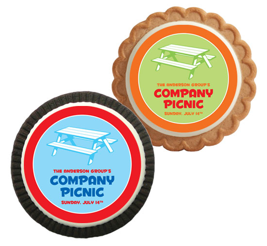 Picnic Theme Party Custom Cookie