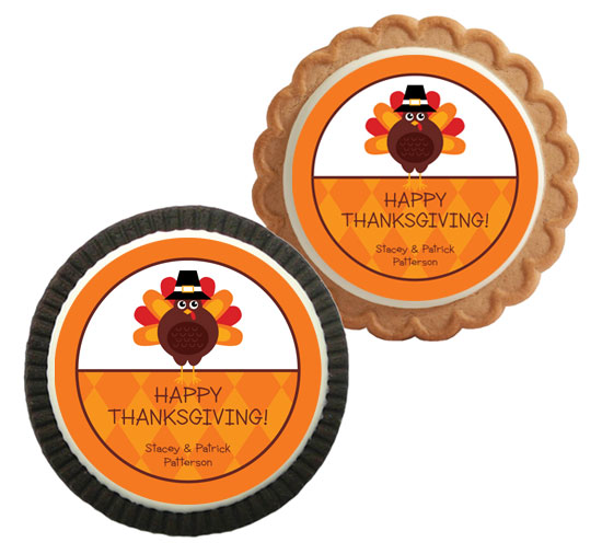 Thanksgiving Celebration Theme Custom Cookie