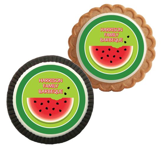 Watermelon Theme Cookie