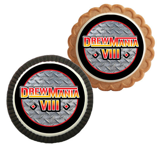 Wrestling Party Theme Custom Cookie
