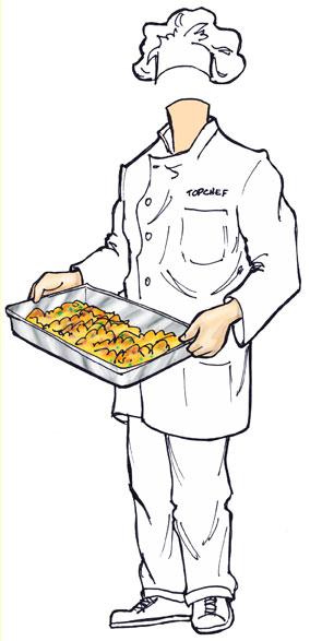 Chef Cutout