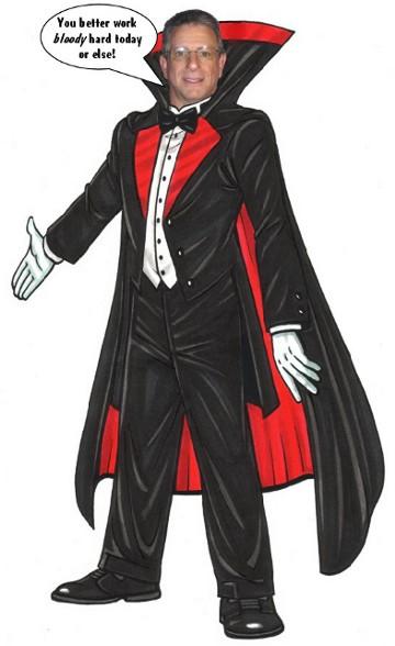 Halloween Cutout, Dracula