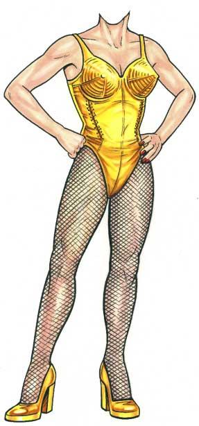 Madonna Cutout