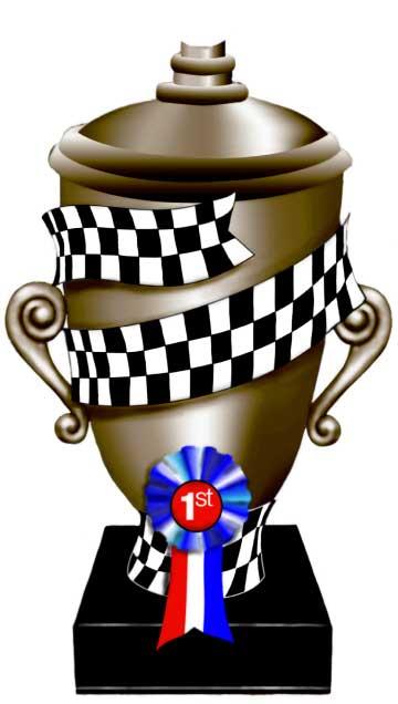 Race Trophy Cutout