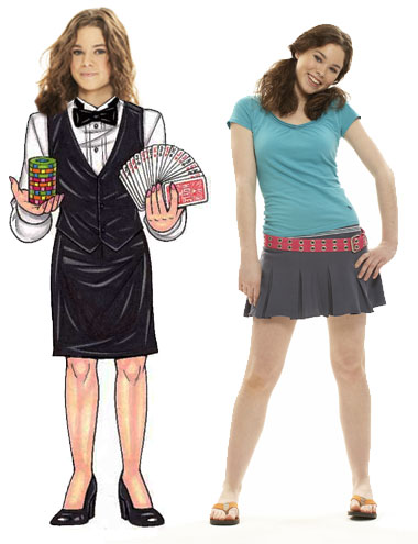 Casino Dealer Teen Cutout