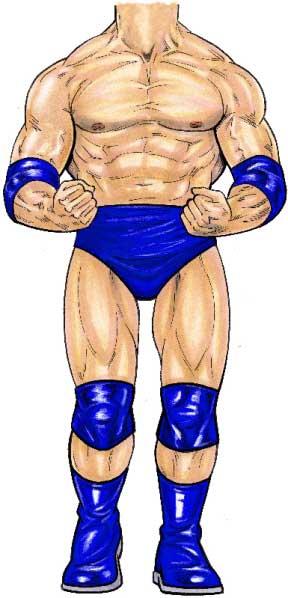 Wrestler Lifesize Cutout