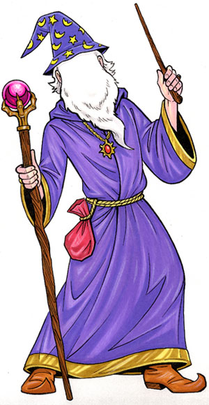 Wizard Lifesize Cutout