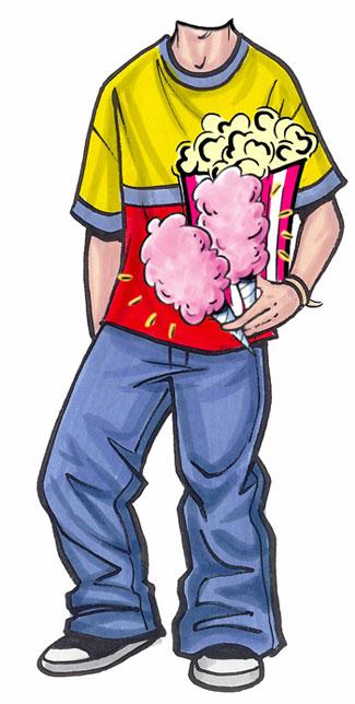 Carnival Teen Male Cutout