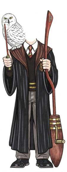 Magic Wizard Cutout