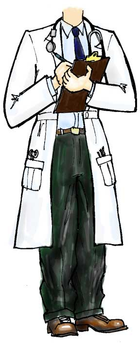 Doctor Male Life-Sized Cutout