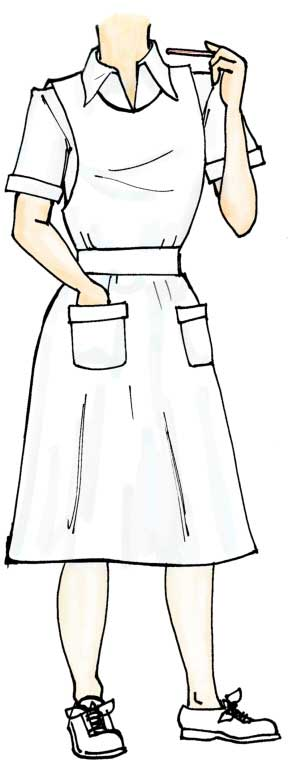 Nurse Cutout