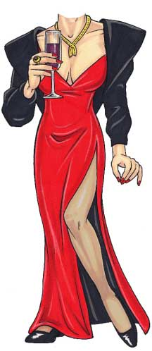 Bond Girl Cutout