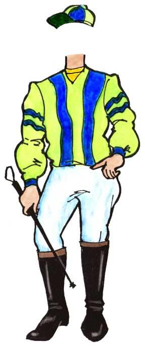 Kentucky Derby Theme Jockey Cutout