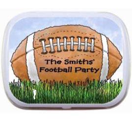 Football Bash Party Mint Tin