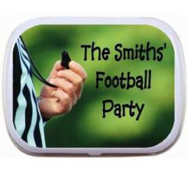 Football Ref Theme Mint Tin