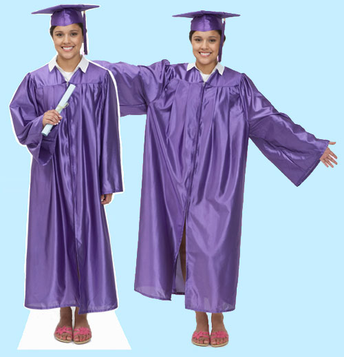 2015 Graduate Full Body Photo Cutout