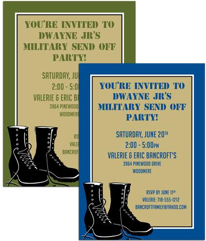 Boot Camp Invitation