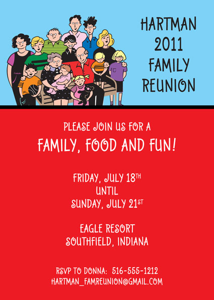 A Reunion Party Invitation