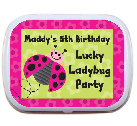 Ladybugs Theme Mint Tin