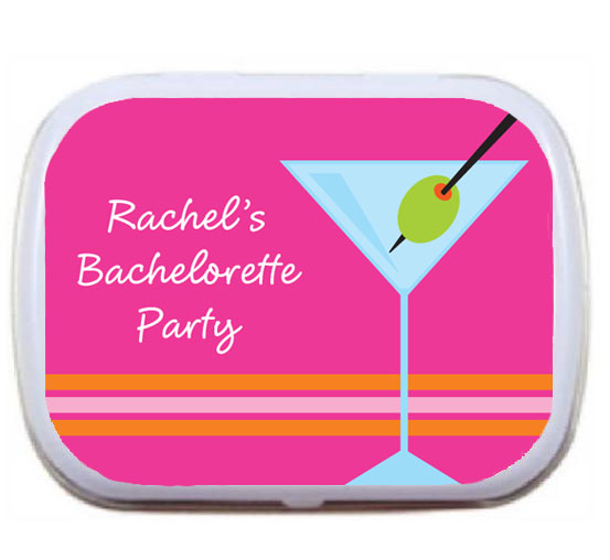 Bachelorette Martinis Mint Tin