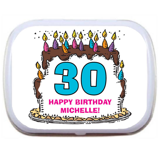 Birthday Cake For Her Mint Tin