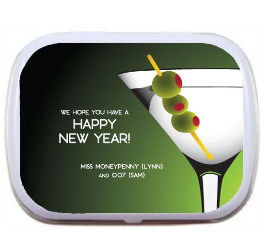 Casino Royale, Martini Theme Mint Tin