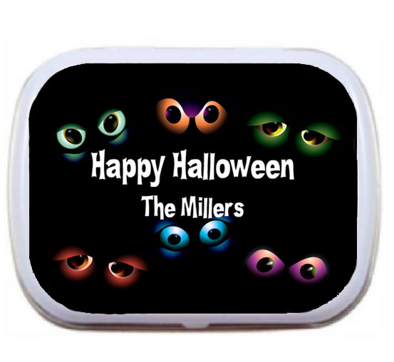 Halloween Eyeballs Mint Tin