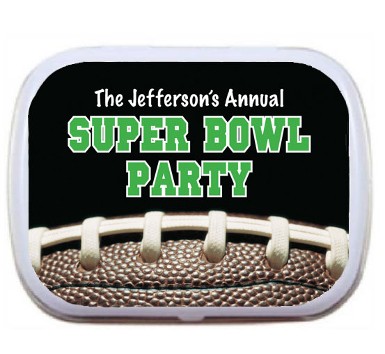 Football Party Mint Tin
