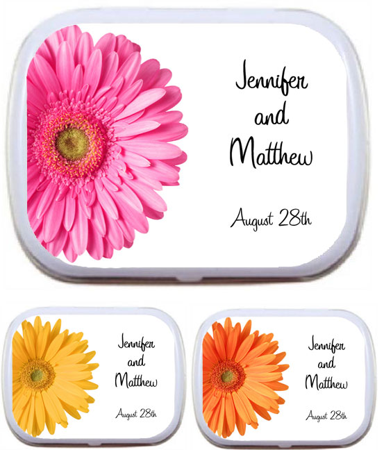Wedding Mint Tin, Daisy