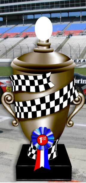 Race Trophy Photo Op