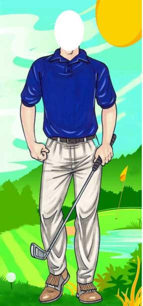 Golfer Photo Op