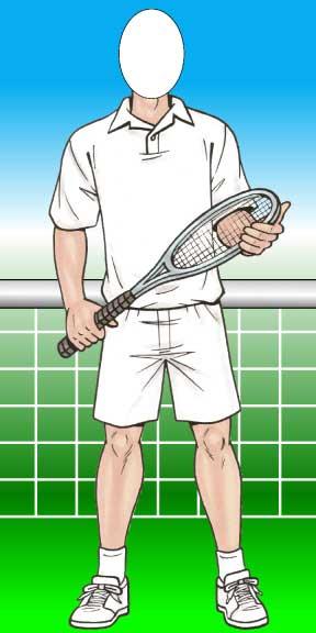 Tennis Male Photo Op