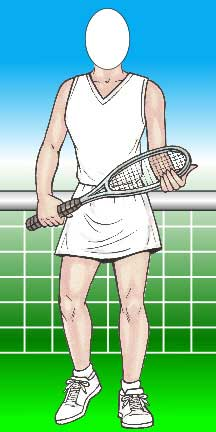 Tennis Female Photo Op