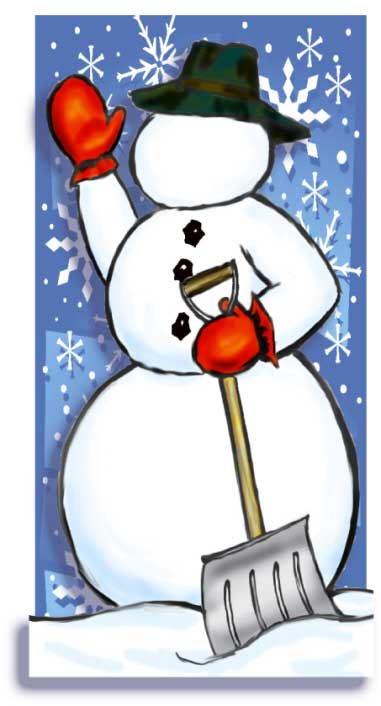 Snowman Photo Op
