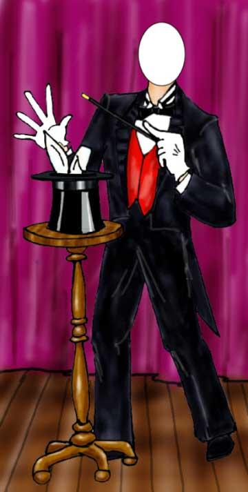 Magician Photo Op