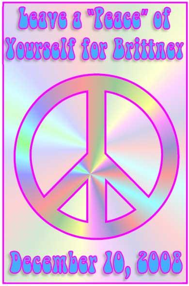 Peace Symbol Sign In Board