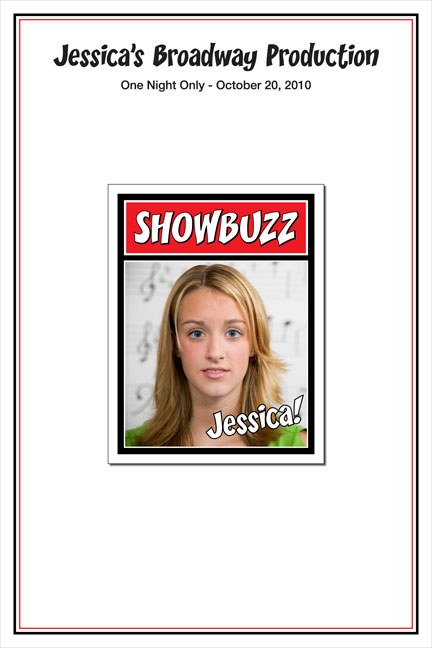 Broadway Showbuzz Sign In Board