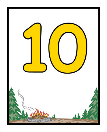 Camp Table Number