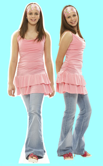 Lifesize Photo Cutout, Teen