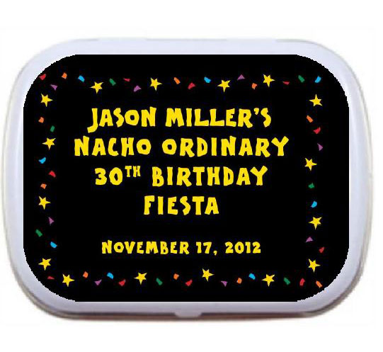 A Fiesta Bash Theme Mint Tin