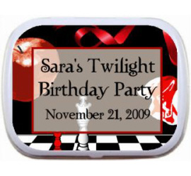 Twilight Mint and Candy Tin
