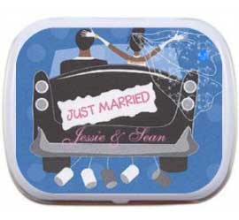 Wedding Mint Tin, Just Married