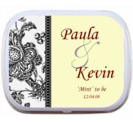 Wedding Mint Tin, Classic