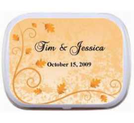 Fall Theme Mint Tin