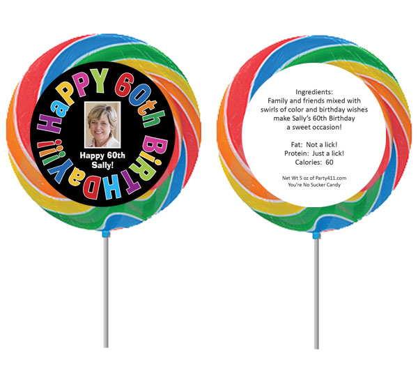 Birthday Celebration Theme Lollipop