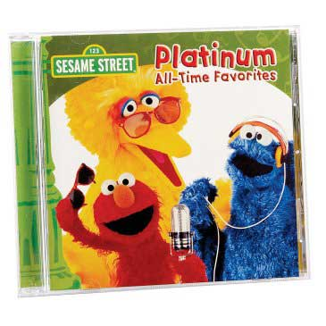 Sesame Street CD: Platinum All-Time Favorites