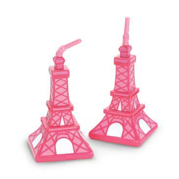 Pink Eiffel Tower Cup