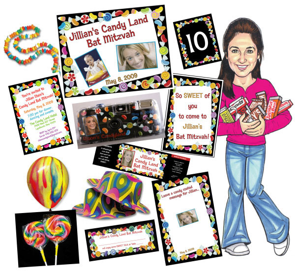 Candy Theme Party Package